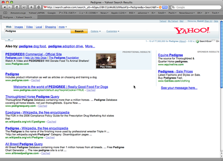 Rich Ads in Search 米 Yahoo !
