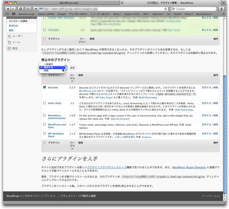WordPress スパム対策 AKismet 10