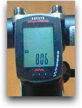 自転車 スピードメーター
