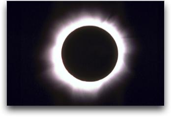 日食のイメージ画像