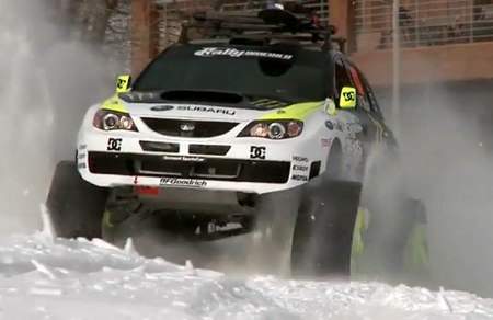 史上最速 雪上車 インプレッサ WRX STI