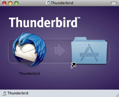 Thunderbird 3.0 リリース 早速 インストール DMG