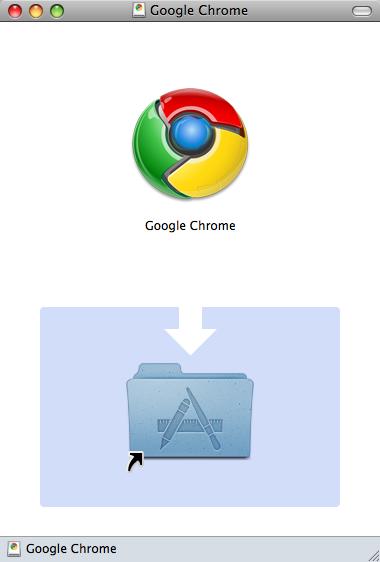 Mac 版 Google chrome ベータ版 インストール DMG